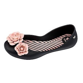 Womens Zaxy Ballet Pumps Start Blossom Flat -  Black