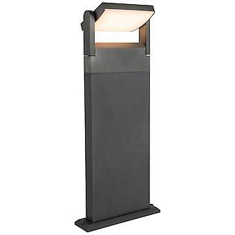 Lámpara AEG Grady LED Lámpara de Soporte Exterior Antracita 1x 12.5W LED integrado, (1200lm, 3000K) Escalar A++ a E ? Tipo de protección IP: