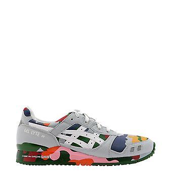 Comme Des Garçons Shirt W286011 Heren's Multicolor Suede Sneakers