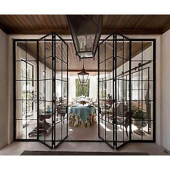 Moderne dør kjøp erstatning glass stål ramme metall for vinduer