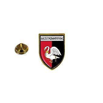 pins pin badge pin's souvenir ville drapeau pays blason buckinghamshire