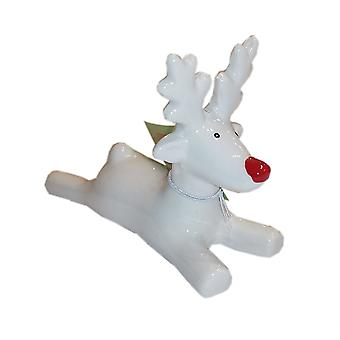 Reindeer Lying White by Giftware Trading