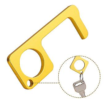 7.6*3cm Hygiene Hand Antimicrobial- Edc Door Opener Portable Press Elevator