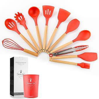 11pcs Silikon Küche Utensilien Set