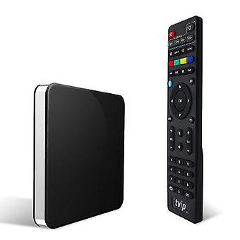 TVIP 605 Linux IPTV Box Quad core S905X Dual Band 2.4G 5G WIFI Media Player