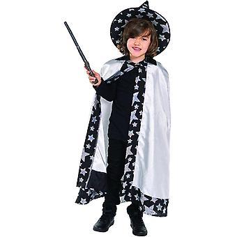 Zauberer Magier Kinder Kostüm Zauberei Magierkostüm