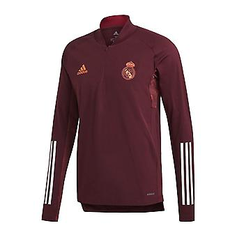 2020-2021 Real Madrid EU Training Top (Maroon)