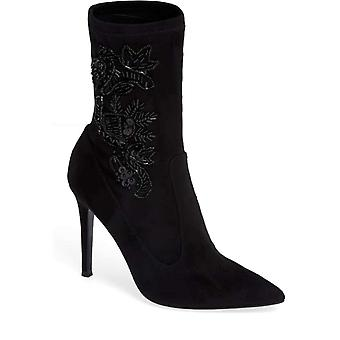 Nina Womens Dorella Pointed Toe Ankle Fashion Boots