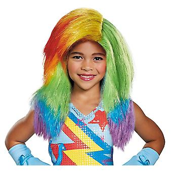 Rainbow Dash Wig Child - My Little Pony