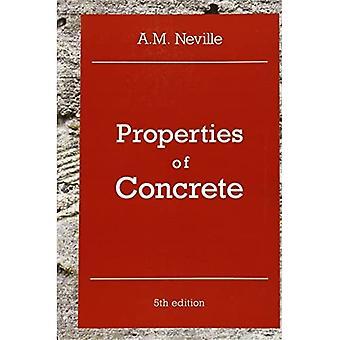 Eigenschappen van beton