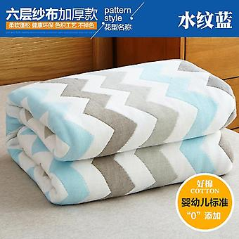 100% Cotton Baby Quilt Baby Cartoon Pattern Baby Blanket Soft Comfortable