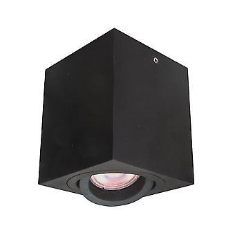 Italux Emilio - Moderne Oberfläche montiert Schwarz 1 Licht, GU10