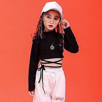 子供ヒップホップ衣類スウェットシャツ、社交ダンス服のためのカジュアルパンツ