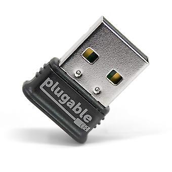 Plugable USB bluetooth 4.0 nízkoenergetický mikro adaptér (kompatibilní s windows 10, 8.1, 8, 7, raspberr