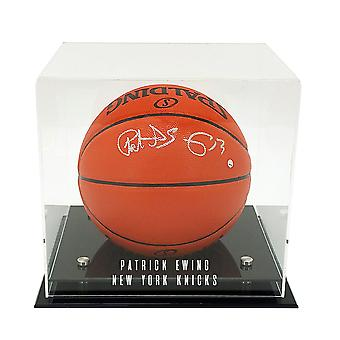 OnDisplay Deluxe UV-Protected Basketball/Soccer Ball Display Case - DIY Personalized