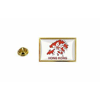 الصنوبر الصنوبر شارة الصنوبر دبوس أبوس;ق خريطة العلم القطري هونج كونج هونج كونج