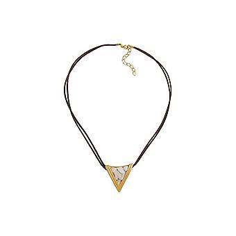 Collar Triángulo Madre de perla 45cm