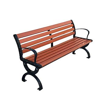 Wood-plastic Outdoor Patio Bench Garden Chair Courtyard Cabinet