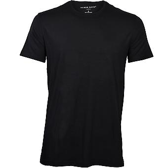 Derek Rose Micro Modal Crew-Neck T-Shirt, Black