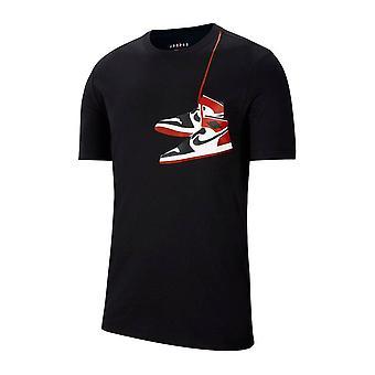 נייקי אייר ירדן AJ1 נעל CZ0432010 אוניברסלי כל השנה גברים חולצת טריקו