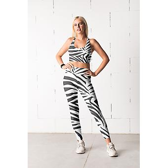 Animal Print Fitness Set
