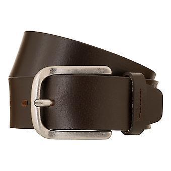 BRAX belts men's belts leather belt dark brown 3048