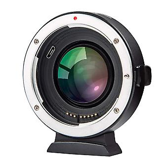 Viltrox ef-fx2 auto focus lens adapter 0.71x focal reducer speed booster for canon ef mount lens to