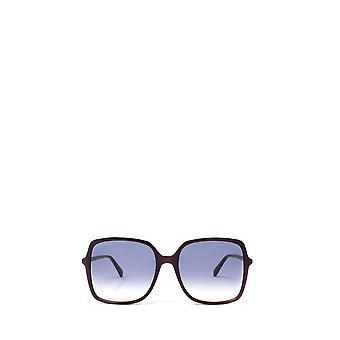 Gucci GG0544S bordowe żeńskie okulary przeciwsłoneczne