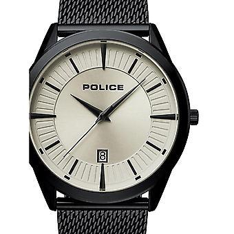 Mens Watch המשטרה PL15305JSB.79MM, קוורץ, 45mm, 5ATM