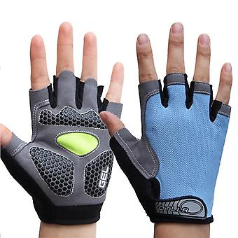 Outdoor Sport 3d Silikonové gelové polstrované rukavice