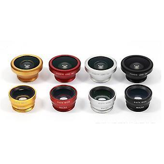 Lens Fisheye +geniş Açı +makro Kamera