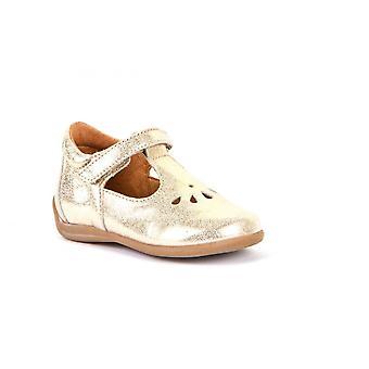 FRODDO Tbar Shoe In Gold