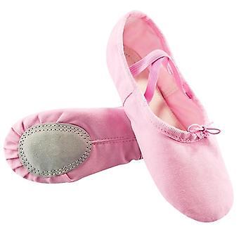 Plátěná taneční gymnastika Dětské jógové boty