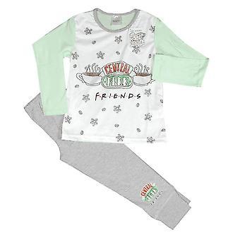 子供&アポスのフレンズセントラルフォークロゴパジャマセット