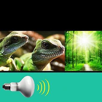 Turtle Basking Uv Light Bulbs Heating Lamp Amphibians Lizards Temperature