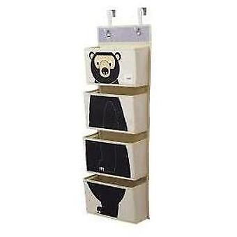 3 Sprouts Wall Organizer - Bear