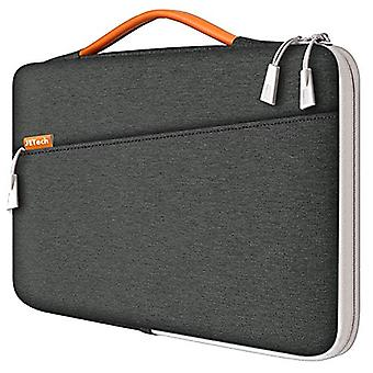 "JETech Laptop Sleeve for 13.3-Inch Tablet, Waterproof MacBook Case with Portable Handle, Compatible with 13"" MacBook Pro and MacBook Air, 12.3"" Surface Pro, Surface Laptop 2017/2018, Dark Grey"