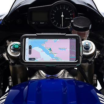 Universal waterproof tough phone case sportsbike motorcycle mount kit