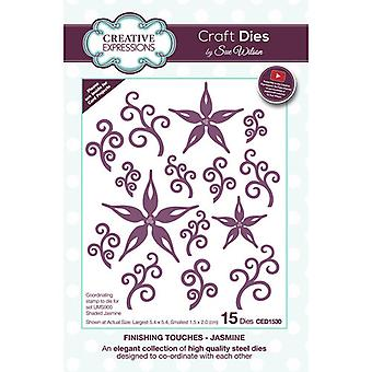 Creative Expressions Finishing Touches Collection Cutting Dies - Jasmine