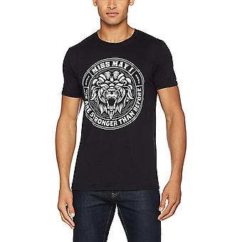 Miss May I Unisex Adults Lion Crest Design T-shirt