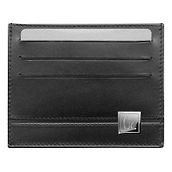 Men's Card Holder GC Watches Black Leather