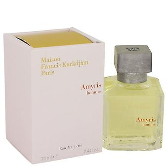 Amyris Homme Eau De Toilette Spray By Maison Francis Kurkdjian 2.4 oz Eau De Toilette Spray