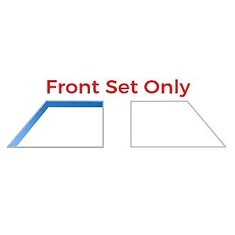 Pair of Airvit Front Wind Deflectors Rain Guards, Tinted, Easy to Fit ( 5 Doors Model Only)
