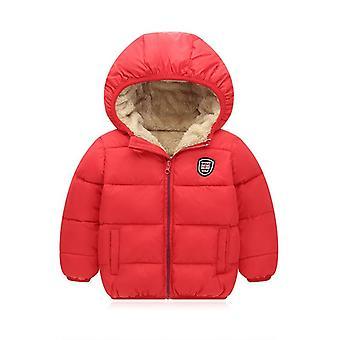 Winter Kids Hooded Jackets, Winter Warm Jacket Outerwear Coats