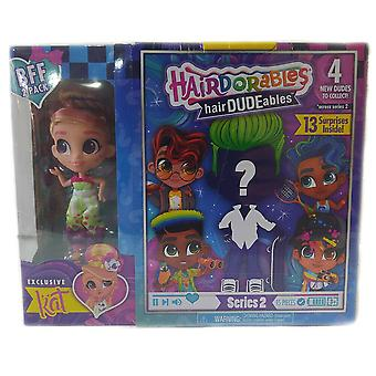 Hairdorables hairdudeables series 2 bff pack (13 surprises) kat