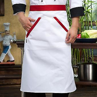 Unisex Kitchen Bakery Chef Uniform Short Sleeve Mesh Breathable Workwear