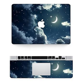 Textur Laptop Körper Aufkleber schützende Haut Vinyl Star Design Aufkleber