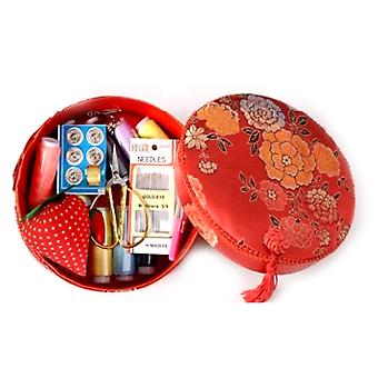 Household Sewing Kit Portable Sewing Box Set For Hand Quilting Stitching Embroidery