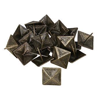 20piece brons möbler dekorativa naglar klädsel Tacks Square Studs