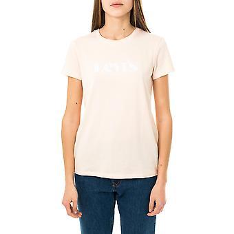 T-shirt donna levi's new logo scallop shell 17369-1277